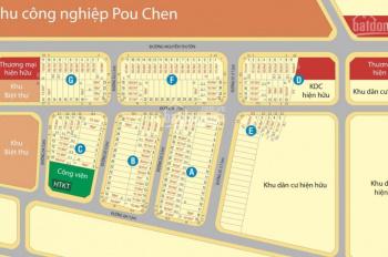 Đất nền TP Biên Hòa, ngay chợ Hóa An, công ty Pouchen, chiết khấu khủng lên đến 900tr, 0981633644