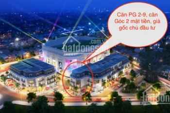 Bán shophouse Vincom bến xe cũ Thái Nguyên, căn góc 2 mặt tiền, vốn 3,2 tỷ. LH 0904573669