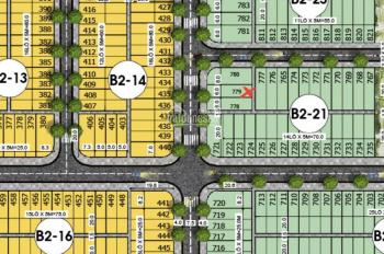 Chính chủ không hợp hướng, bán rẻ lô đất thuộc KĐT Bàu Tràm, DT 100m2, giá 1.8 tỷ, 0935345554