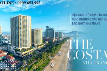 The Costa Nha Trang 100% view biển, sổ hồng, bàn giao full nội thất
