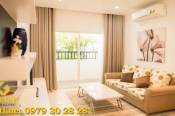 Gold Link cho thuê căn hộ 2 PN, nằm gần siêu thị Lotte Mart, liên hệ: 0979.30.28.28