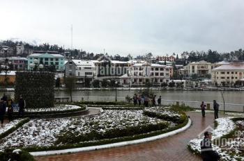 Bán khách sạn 80 phòng xây 5 tầng, lô góc mặt hồ đẹp nhất thị trấn Sa Pa. LH: 0988551558