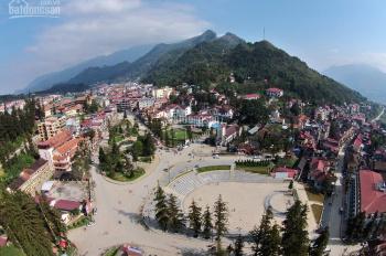 Bán 1ha đất xây khách sạn 4-5* view toàn bộ thị trấn Sapa và thung lũng Mường Hoa đẹp nhất Sapa