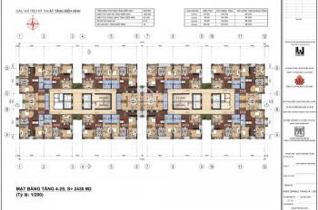 Bán 2 căn góc 133m2 chung cư N01 T1 Ngoại Giao Đoàn, 4PN, view hồ điều hoà. LH 0917.559.138