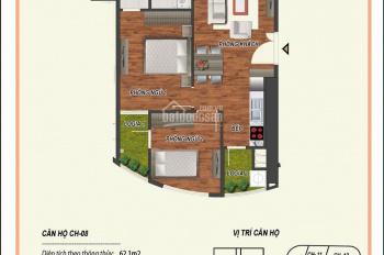 Bán suất ngoại giao căn hộ 62m2, Manhattan 21 Lê Văn Lương, giá chỉ 32 tr/m2