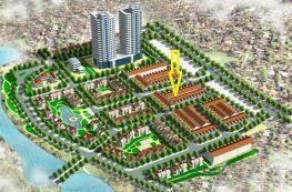 Bán nhà liền kề nV2 khu ĐTM Viglacera Hữu Hưng Tây Mỗ, 90m2 x 4 tầng, MT 5m, đường trước nhà 17,5m