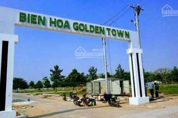 Chỉ còn 4 suất dự án Biên Hòa Golden Town Tam Phước