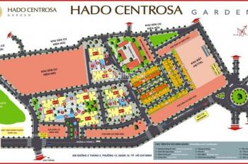 Bán căn hộ Hà Đô Centrosa giá 42tr/m2 nhận nhà ngay thiết kế 2PN, 2WC giá thấp nhất, LH: 0906234169