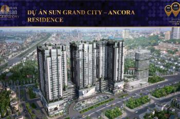 Căn hộ duplex thông tầng Sun Group số 3 Lương Yên, nhiều căn vip đẹp suất ngoại giao