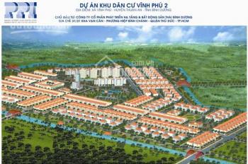 Tôi cần bán lô đất KDC Vĩnh Phú 2, giá chỉ 14tr/m2, SHR, XDTD, thổ cư 100%. LH 0931610789 Nhất Huy