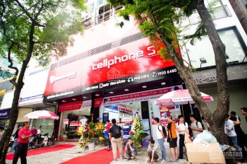Cho thuê nhà mặt phố Thái Hà, Đống Đa 90m2 x 4 tầng, 7m mặt tiền (vỉa hè rộng thênh thang)
