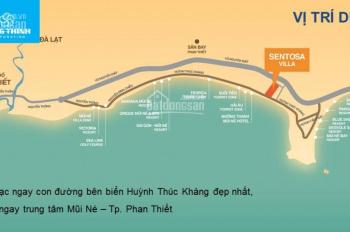 Bán đất biệt thự Mũi Né ngay biển, bãi tắm rất đẹp, thanh toán theo tiến độ CĐT 0975057279