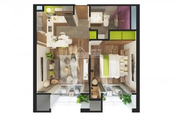 Republic Plaza Cộng Hòa bán căn hộ tầng 12, hướng Nam, view hồ bơi. LH 0902 667 639
