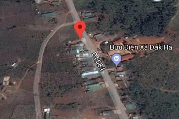 Cần bán gấp nhà đất mặt tiền kinh doanh tại trung tâm xã Đắk Ha - huyện Dăk GLong, tỉnh Đắk Nông