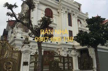 Miss Vân Anh 0962.396.563. Bán biệt thự Mễ Trì Hạ, DT: 201m2 x xây thô 4 tầng, đường 17,5m
