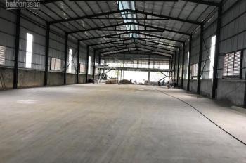Tại Hà Nội cho thuê nhà xưởng hiện đại trong khu công nghệ cao Láng Hòa Lạc, giá thuê chỉ 35000đ/m2