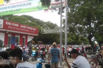 Bán dãy nhà trọ 12 phòng SHR, ngay cổng KCN Thuận Đạo, cách Quốc lộ 1A chỉ 1km. LH: 0902 395 186