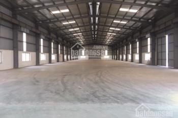 Cho thuê kho xưởng 1400m2, 2200m2, 4000m2 tại KCN Thạch Thất, Quốc Oai, Hà Nội