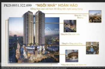 Alpha Hill - Dự án vàng phố tây Bùi Viện, mở bán tháp mới - LH: 0931322099