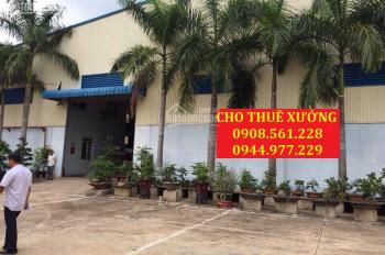 Cho thuê nhà xưởng mặt đường Lê Thị Riêng, Thới An, Q12, DT: 1200m2, giá 50tr/th. LH: 0937.388.709