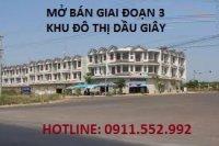 Đất nền Dầu Giây ngay chợ đầu mối, trung tâm hành chính huyện, KCN. Hotline: 0911.552.992