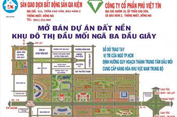 Đất nền Dầu Giây bán cặp góc 6A-24+25, giá 3,5 tỷ, dự án AC1 Dầu Giây, hotline: 0978176517