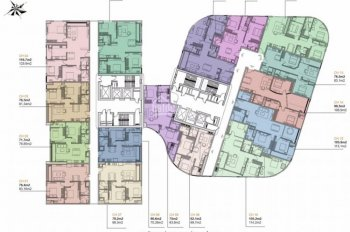 Bán căn góc chung cư Manhattan 21 Lê Văn Lương, ký hợp đồng trực tiếp chủ đầu tư