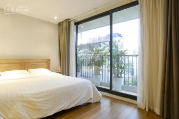 Căn hộ dịch vụ, chung cư cho thuê, loại 1PN, 1PK riêng, có bồn tắm, giá cực tốt, ở Trần Duy Hưng