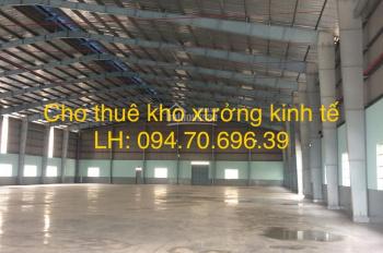 Cho thuê kho xưởng đường Kinh Dương Vương, Bình Tân, diện tích 520m2, 720m2, 1200m2