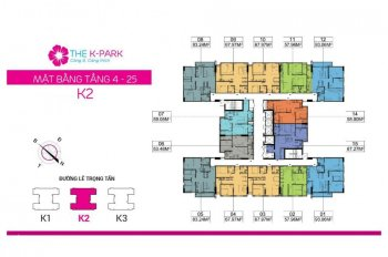 Chính chủ cần bán căn hộ 67.9m2 dự án The K Park Văn Phú, Hà Đông. LH 0888 09 9898