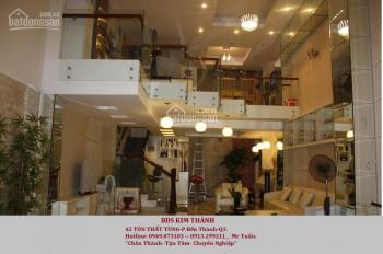 Bán nhà căn góc 2 mặt tiền Hòa Hảo, P8, gần Nguyễn Tri Phương, 6m x 9m, trệt, lửng, 2 lầu, 13 tỷ