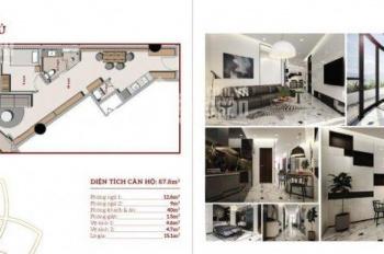 Cần nhượng lại 1 căn Panorama Đà Lạt - Hướng Hồ Xuân Hương - 92m2 - 2PN - nội thất gỗ  0354.79.8668