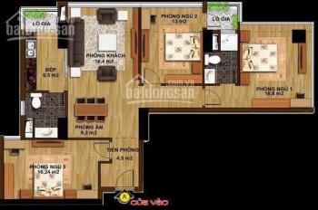 Gia đình cần bán căn góc 3 phòng ngủ, 114m2, chung cư Hạ Đình Tower - 85 Hạ Đình