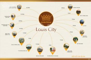 Cần bán những LK BT vị trí đẹp nhất dự án Louis City đường 12m, 17m, 21m. LH 0961 999 893