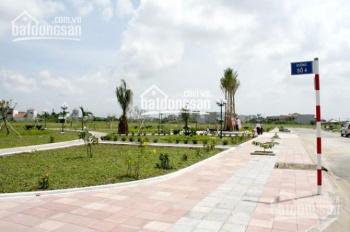 Bán 2 lô đối diện công viên, dự án Thanh Yến, Bến Lức, giá 6tr/m2, SHR, LN 30%/năm. LH 0915 942 332