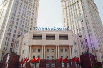 Cho thuê văn phòng tòa nhà Sông Đà Mễ Trì, DT 100m2 - 250m2 - 500m2, giá thuê 240 nghìn/m2/tháng