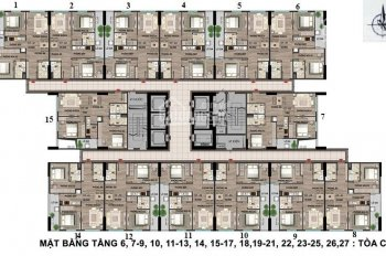 Tôi cần bán căn hộ tại Nhà ở chiến sĩ CA bộ CA Cổ Nhuế 2, DT 69,8m2 tòa CT1, giá chênh 300 triệu