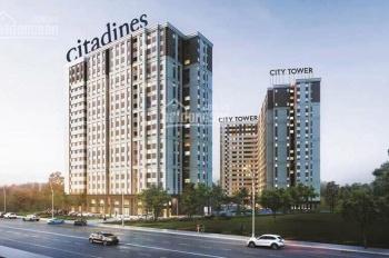 Bán căn hộ City Tower TT trước 450tr nhận nhà liền, nội thất đầy đủ, ngân hàng HT 70%, 0933841846