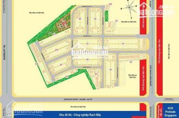 Đất mặt tiền đường Hùng Vương (7A), liền kề KCN Rạch Bắp, xây dựng ngay, LH 0982 312 336