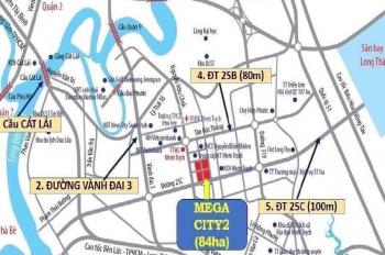 Mega City 2 chỉ từ 735tr/90m2, giá tốt để KH đầu tư. LH CĐT 0938434950 Ms. Dung