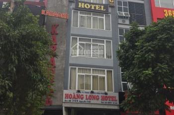 Cho thuê nhà mặt phố 369 Nguyễn Trãi 70m2 x 7T, mặt tiền 5m có hầm, vị trí KD đẹp: (0976.075.019)