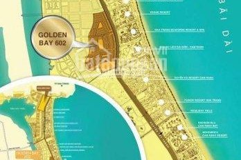 Bán lại một số nền vip góc quảng trường, trục chính dự án, dự án Golden Bay 602. LH 0933112820