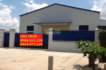 Cho thuê nhà xưởng 500m2, giá 25 triêu/thang, nằm gần nhà máy bia Tiger, Quận 12. LH: 0908.561.228