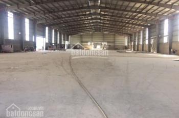 Cho thuê kho xưởng DT 2000m2, 3200m2, 5400m2, 9000m2 tại Phố Nối A, Văn Lâm, Hưng Yên. 0979929686