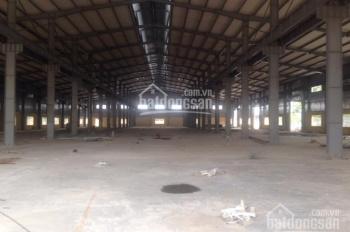 Cho thuê kho xưởng DT: 2500m2, 4000m2 tại KCN Thạch Thất Quốc Oai, Hà Nội. LH: 0979 929 686