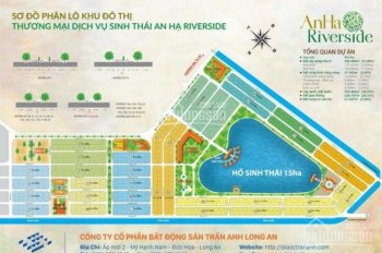 Chuyên đất nền vị trí đẹp giá mềm KDC Tân Đô, Long An, đất thổ cư 100%, SHR. LH: 0909947176