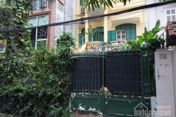 CC bán căn biệt thự mặt phố 80 Tô Ngọc Vân, Quảng An, Tây Hồ giá shock