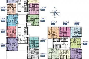 Bán căn 110,7m2 tòa Horizon, Ngoại Giao Đoàn, tầng cực đẹp, giá chỉ 29,8 tr/m2