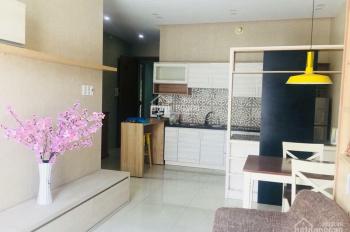 Cho thuê căn hộ New Horizon, ngay khu Becamex, căn 2 phòng ngủ, full nội thất cao cấp. Giá 14 tr/th
