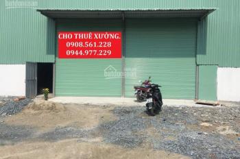 Cho thuê nhà xưởng đường Hà Huy Giáp, Quận 12, DT: 1800m2, giá 65tr/tháng, LH: 0908.561.228